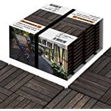 Interbuild Verschillende kleur Deck Tegels Variatie Schemer Grijs