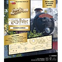 Harry Potter - Hogwarts Express Book + 3d Wood Model: A Behind-the-scenes Guide to the Magical Train: Hogwarts Express…