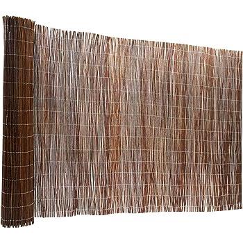 7f91f5856d48 casa pura Brise Vue canisse 100% Produit Naturel - clôture en Bois de Saule  résistant
