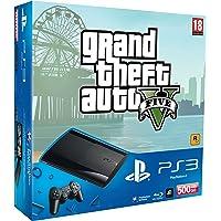 Sony PlayStation 3 500GB Super Slim Console with Grand Theft Auto V [Edizione: Regno Unito]