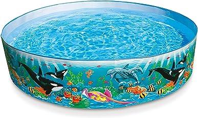 Intex 58461 Rigid Ocean Pool, Multi Color