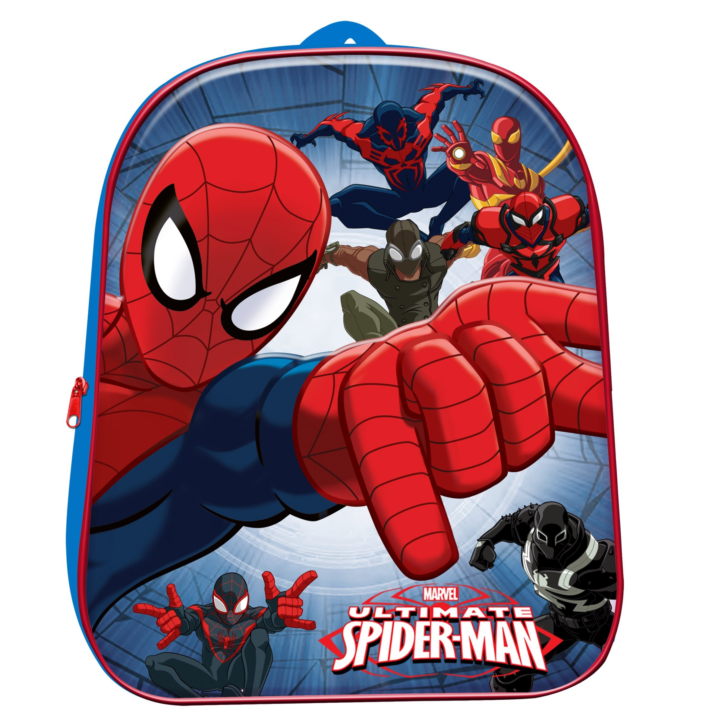Zaino Zainetto asilo per bambino 3D Ultimate Spiderman Marvel