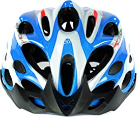 Cockatoo Professional Multi-Colour Cycling Helmet, Skating Helmet (SkyBlue:White, Large)