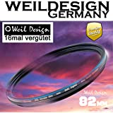 Polfilter POL 82 Circular Slim XMC Digital Weil Design Germany SYOOP * Kräftigere Farben * mit Frontgewinde, 16 Fach XMC vergütet * inkl. Filterbox * zirkulare (82 mm)