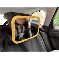 Onco Baby Car Mirror (Yellow)