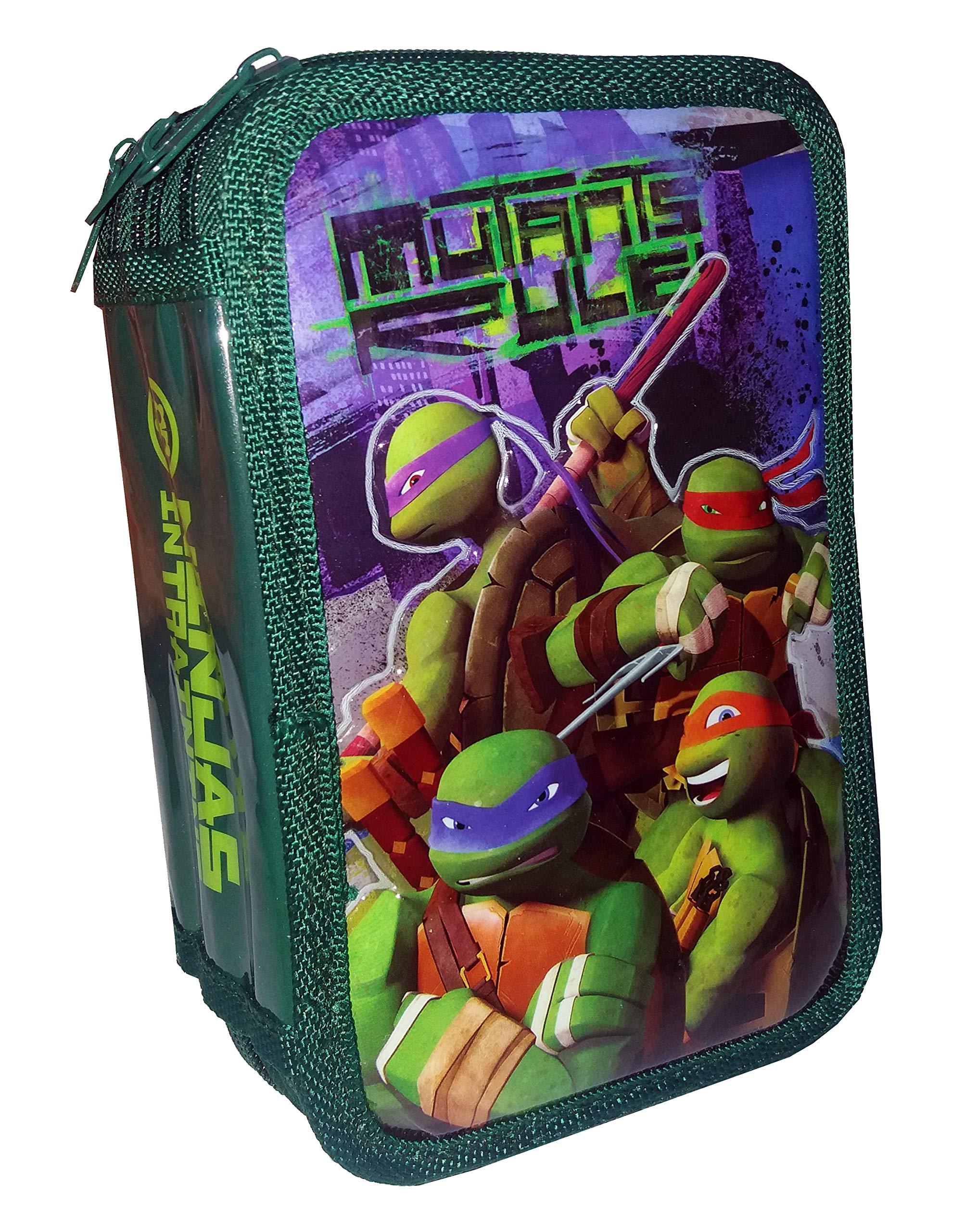 Plumier 3D Tortugas Ninja Attack triple