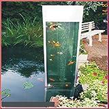 TAB Fischsäule 60x60x140cm ca. 500L.Teichsäule m.Wasseraustausch +Belüftung