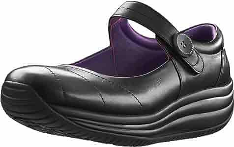 Mary Jane Shoe in Black by Joya Shoes