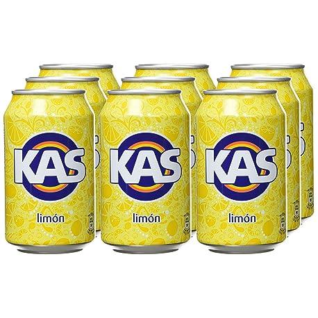 Kas Lim n Bebida Refrescante lata 33 cl Pack de 9