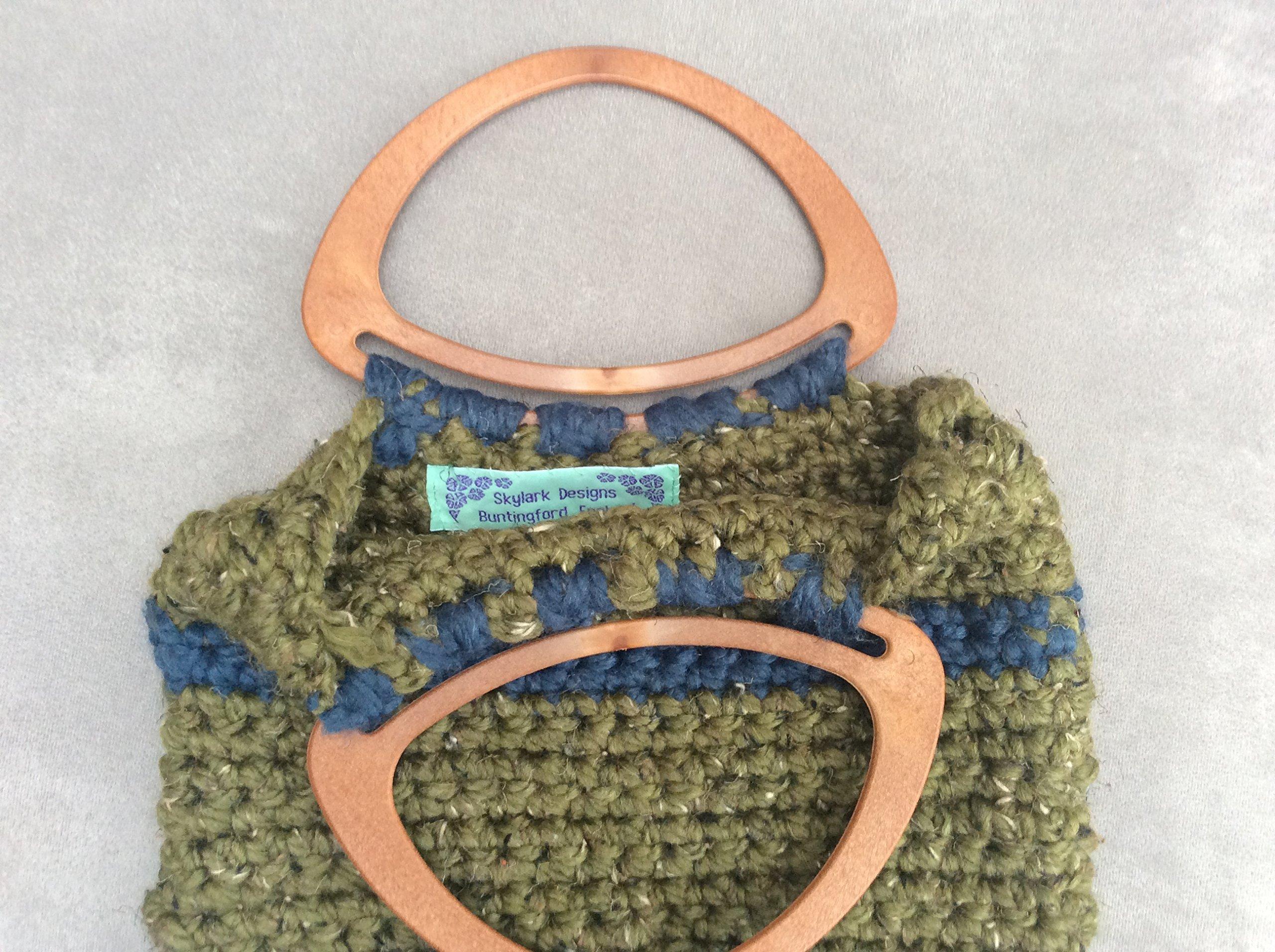 Rustic Crochet Handmade Handbag - handmade-bags