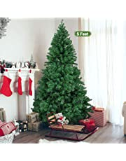 TIED RIBBONS Christmas Tree 5 Feet Christmas Decoration for Office Home Restaurants