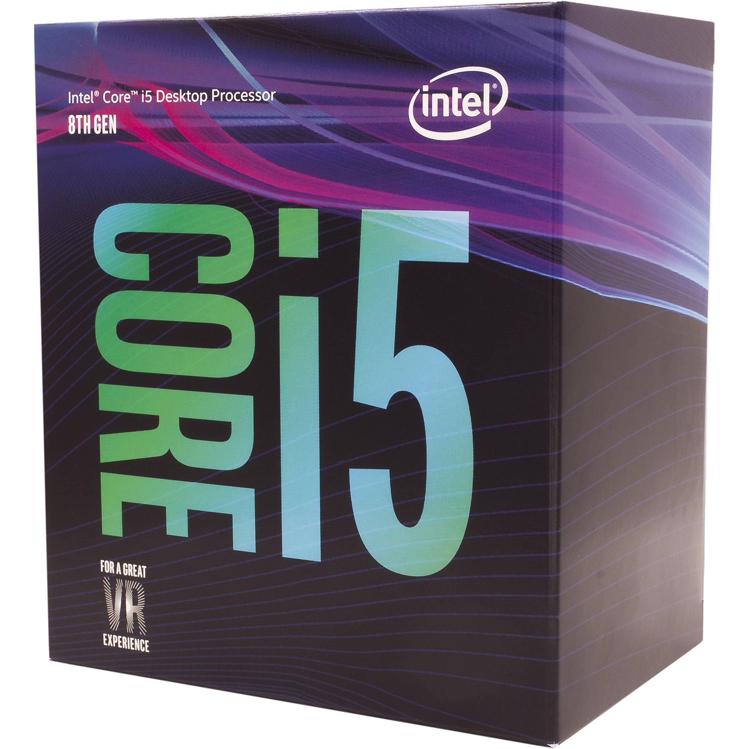 Intel Core i3-8100 Processeur de Bureau 4 cœurs 3,6 GHz LGA1151 300 Series 65W BX80684i38100