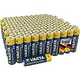 Varta Pila alcalina AA Mignon Industrial, pilas alcalinas LR6 - Paquete de 100 unidades, «Made in Germany»