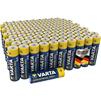 VARTA Industrial Batterie AA Mignon Alkaline Batterien LR6 - 100er pack, Made in Germany
