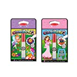 Melissa & Doug On The Go ColorBlast No-Mess Coloring 2-Pack, Princess, Fairy