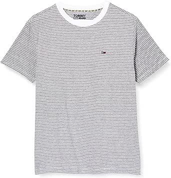 Tommy Jeans Men's TJM Overdyed Stripe Tee T-Shirt