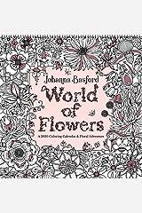 Johanna Basford - World of Flowers 2020 Colouring Square Wall Calendar Calendar