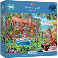 Summer Days 1000 Piece Jigsaw Puzzle | Sustainable Puzzle for Adults | Premium 100% Recycled Board | Great Gift for…