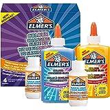 ELMER'S Kit per Slime Cangiante, include la Colla Cangiante, con Liquido Magico Attivatore di Slime si Attiva con Luce UV, 4