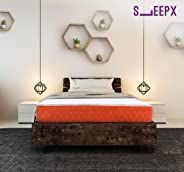 SleepX Dual mattress - Medium Soft and Hard (72*30*6 Inches)