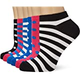 FM London Bamboo Trainer Calcetines (Pack de 6) para Mujer