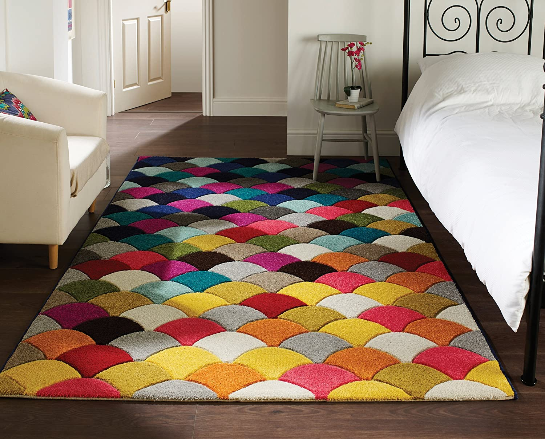 tapis multicolore. Black Bedroom Furniture Sets. Home Design Ideas