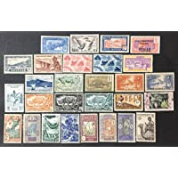 French Colonies- Various Countries - Used/MH - 28 Stamps - #7108