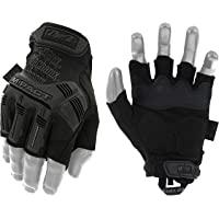Guanti Mechanix Wear M-Pact® Covert Fingerless (L, tutto nero)