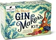 Sandy Leaf Farm Ultimate Gin Maker's Kit - Make ten big bottles of your own gin - Flavours including classic citrus, chocolat