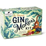 Sandy Leaf Farm Ultimate Gin Maker's Kit - Make ten big bottles of your own gin - Flavours including classic citrus…