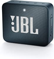 JBL Go 2 Portable Bluetooth Speaker, Slate Navy (JBLGo2Navy - Navy)