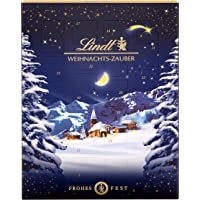 Lindt Weihnachts-Zauber Adventskalender 2021 | 265 g Milchschokolade und Weihnachtspralinen | Ideales Schokoladen…