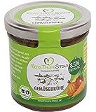 Bio Gemüsebrühe Naturbelassen - kein Pulver. Auf Zucker, Geschmacksverstärker, Hefe, Glutamat, Öl, etc. wird verzichtet.(4 x 150g)