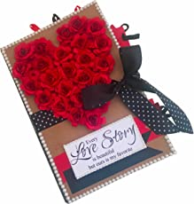 Crack of Dawn Crafts Romantic Love Scrapbook Album