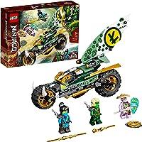 LEGO 71745 NINJAGO Lloyds Dschungel-Bike Bauset, Spielzeug Motorrad mit Lloyd und NYA Minifiguren