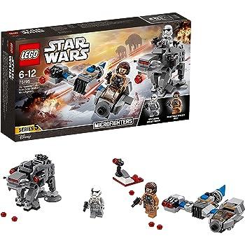 Lego Star Wars - TM - Ski Speeder Contro Microfighter First Order Walker, Multicolore, 75195