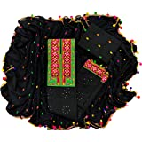 Aahira Women Cotton Unstiched Salwar Suit Dress Material With Phulkari Work On Neck,Bottom Work,Dupatta Work With Lace…
