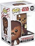 Funko Pop Bobble-Star Wars-E8 TLJ-Chewbacca with PORG, 14748