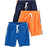 Simple Joys by Carter's 3-Pack Mesh Shorts Bebé-Niños, Pack de 3