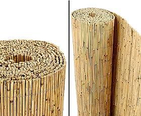 """Schilfrohrmatten Premium""""Beach"""", 140 hoch x 600cm breit, ein Produkt von bambus-discount - Sichtschutz Matten Windschutzmatten …"""