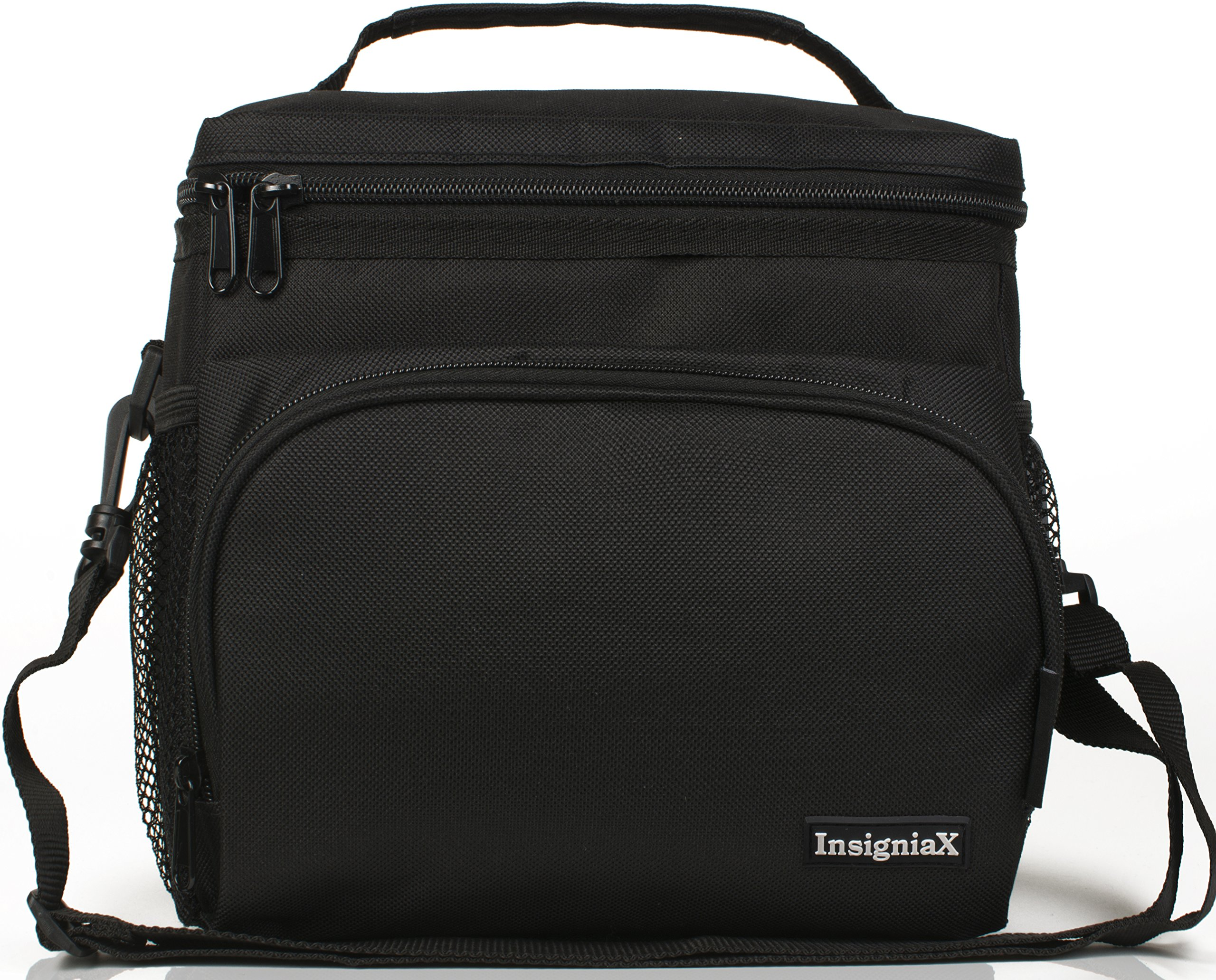 insulated lunch bag men women kids work school lunch pack box by insigniax ebay. Black Bedroom Furniture Sets. Home Design Ideas
