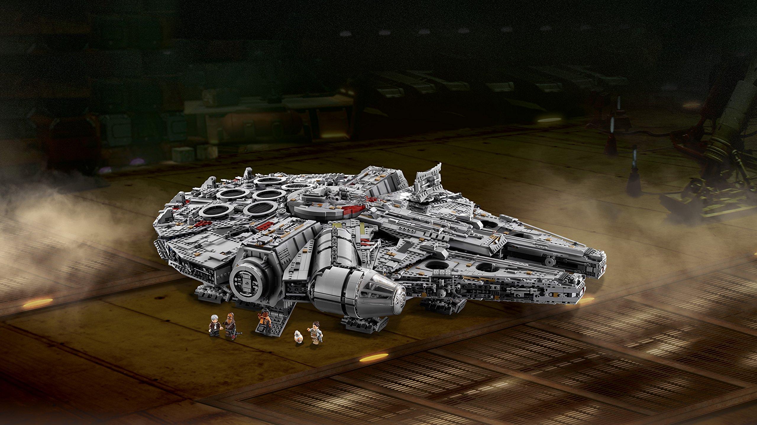LEGO Millennium Falcon Costruzioni Piccole Gioco Bambina Giocattolo 140, Multicolore, 5702015869935 3 spesavip