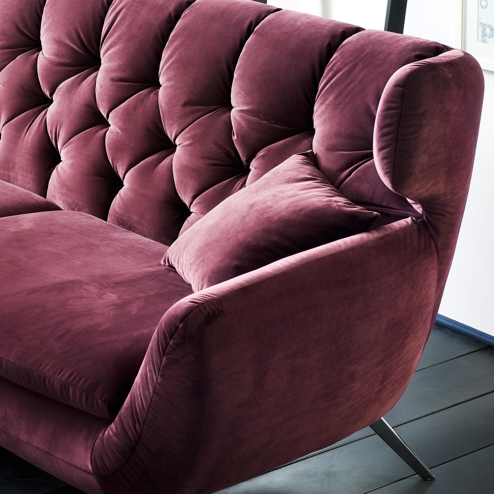 Designer Chesterfield Candy Sixty Sofa 3C Polstersofa