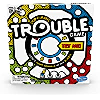 Hasbro Gaming Trouble Game, Toys for Age 4 and up