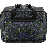 Bolsa de lona impermeable para máquina de coser de gran capacidad, bolsa de almacenamiento para máquina de coser, bolsa de ma