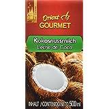 Orient Gourmet Leche de Coco Contenido de Grasa 17-19% - 12 Tetra Pack