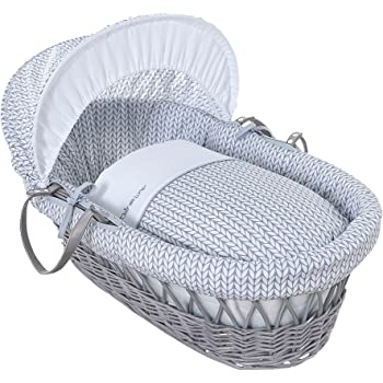 Clair de Lune Sleep Tight 2 Pack Fitted Moses Basket Sheets