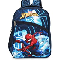 Priority Disney Marvel Spiderman 32 litres Navy Blue Polyester Kid's School Bag   Casual Backpack for Boys & Girls…