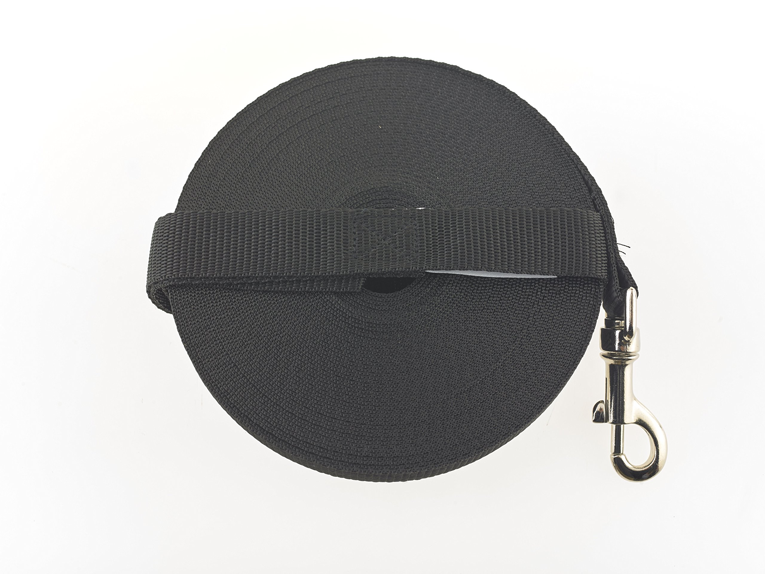 Maximum Pet Products 50ft Black Dog Training Lead FREE P&P made in the UK
