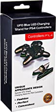 Sameo PS4 Controller Charging Stand With UFO Blue Led